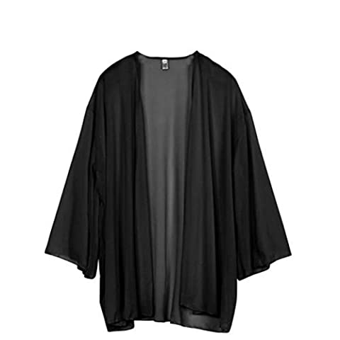 Veste Kimono Femme - A-goo Veste ample légère en mousseline de