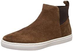 Carlton London Mens Nick Coffee Leather Boots - 6 UK/India (40 EU)