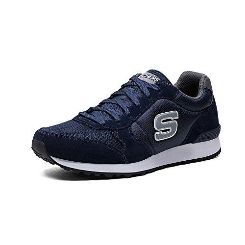 Skechers Herren Og 85 Sneakers Blau (NVGY)