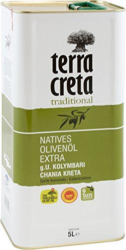 Terra Creta Extra Natives Olivenöl (5L Kanister), 1er Pack (1 x 5 l)