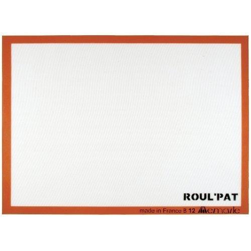 Roul'Pat Antihaftbeschichtung, Rutschfestes Silikon, Halbes Blatt, Matte, Workstation 11-5/8 von 16-1/2 X Sasa, Demarle Inc (Sasa Blatt)