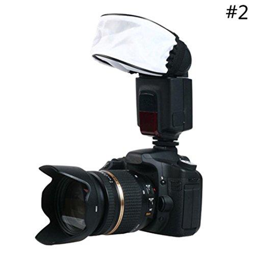 Galleria fotografica Hkfv eccellente design di alta classe camera flash della fotocamera universale flash riflettore foto Softbox diffusore esterno
