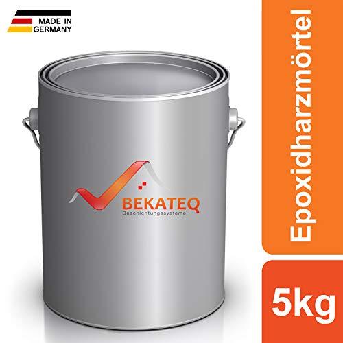 BEKATEQ BK-150EP Epoxidharz Reparaturmörtel, 5kg, Pflasterfugenmörtel 2K Epoxidharzmörtel Fugenmörtel Beton reparieren