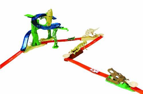 Mattel Hot Wheels 8740 Hw Mega Dino Challenge - Coche en miniatura