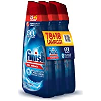 Finish All in 1 Max Powergel Detersivo Lavastoviglie, Regular, 3 x 650 ml