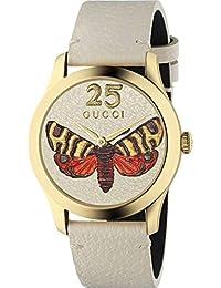 Reloj Gucci YA1264062 Beige Acero 316 L Mujer dfb19e52eb2