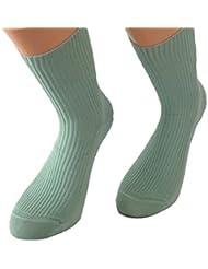 Mujer Calcetines liso sin goma Paquete De 3 Talla 35/38