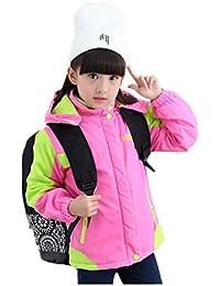 b06d3505bb Menran Mädchen Winter Mäntel Verdicken Kapuzenjacke Wasserdicht Outwear Casual  Jacken Dicke Trenchcoat Für Kinder von 2