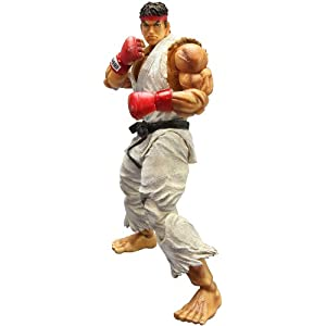 Super Street Fighter IV - Figura Play Arts Kai Ryu 4