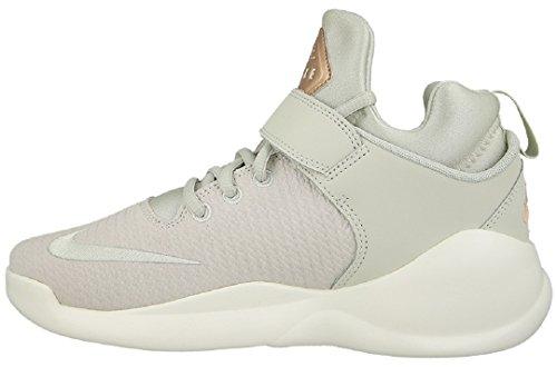 Nike 861664-001, espadrilles de basket-ball femme Blanc