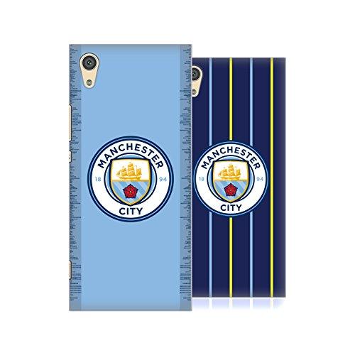 Head Case Designs Officiel Manchester City Man City FC 2018/19 Badge Kit Étui Coque D'Arrière Rigide pour Sony Téléphones 1