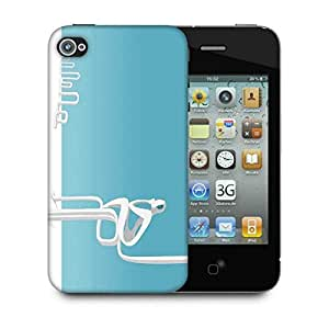 Snoogg Waiting For Someone Designer Protective Phone Back Case Cover For Apple Iphone 4