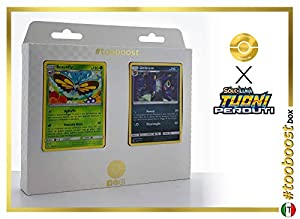 Umbreon 120/214 Y Scizor 126/214 - #tooboost X Sol E & Luna 8 Tuoni Perduti Box de 10 Cartas Pokémon Italiano + 1 Goodie Pokémon