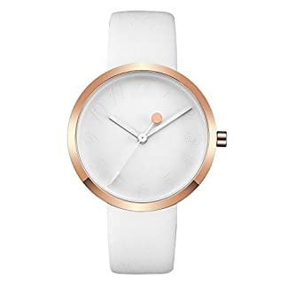Watch-Damen-Damen-Ultra-Thin-Rose-Gold-Analog-Armbanduhr