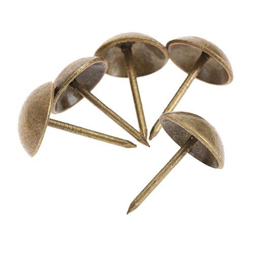Preisvergleich Produktbild 100Pcs Nagel Sofa dekorative Klebe Schmucksache Geschenk Kasten Antike Bronzen Bolzen groß