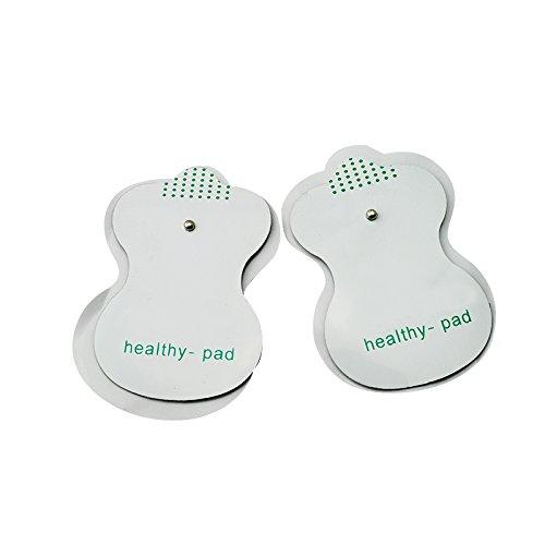 Akupunktur-maschine (2Elektroden-Pads für TENS Akupunktur Digitale Therapie Maschine Massagegerät)