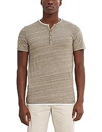 Esprit 047ee2k048-2in1 Henley, T-Shirt Homme