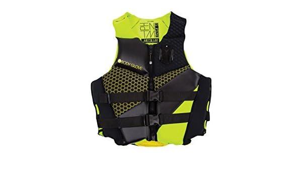 X-Large SPORT DIMENSION BODY GLOVE Mens Phantom Vests Lime//Black