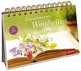 Groh-Verlag Calendrier de table avec calendrier 2019 – Carte postale – Calendrier hebdomadaire – Calendrier de table avec 53 cartes postales – 21 x 17 cm