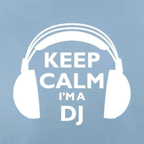 Keep Calm I'm A DJ - Herren T-Shirt - 13 Farben Himmelblau