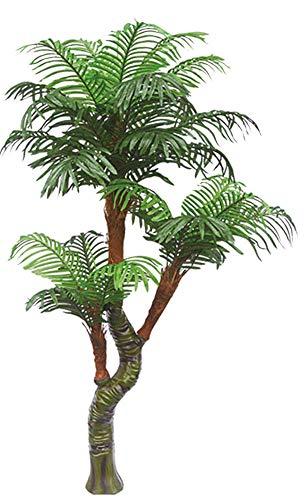 Palme Palmenbaum Cycuspalme Kunstpflanze Kunstbaum Künstliche Pflanze mit Topf 165cm Decovego