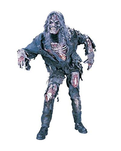 Kostüme Zombie (Zombie Deluxe 3D Kostüm)