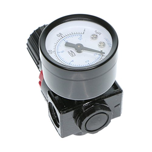 Homyl AR 2000 Pneumatischer Luft Kompressor Druckmessgerät Luftfilterregler ventil