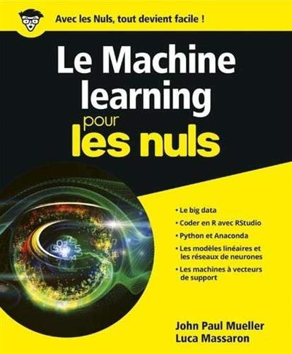 Le Machine learning pour les Nuls, grand format par Luca MASSARON