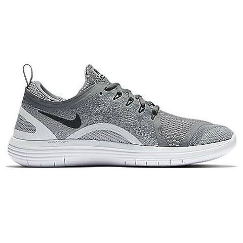 Nike Herren Free Rn Distance 2 Laufschuhe, Grau (Cool Grey/Black-Wolf Grey-Stealth), 41 EU