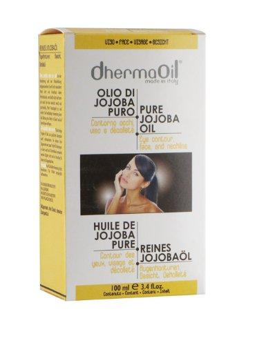 DhermaOil Olio di jojoba puro contorno occhi e decollete 50 ml