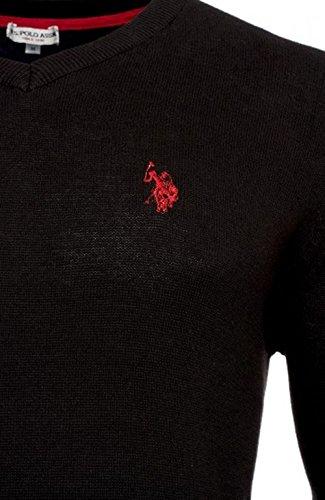 U.S. Polo Assn. Herren Pullover mit V-Ausschnitt