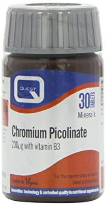 Quest Chromium Picolinate - Pack of 30 Tablets by Questvitamins