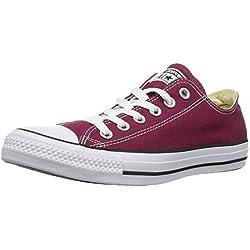Converse Zapatos de Cordones, Hombre, Morado Bordeaux, 46 EU