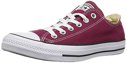 Converse All Star Low Maroon Canvas - 9 Uk