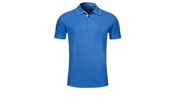 990291146cd79 JERFER Haute Qualité T-Shirt à Manches Courtes pour Hommes Confortable et à  Manches Courtes Tops Blouse  Amazon.fr  Vêtements et accessoires
