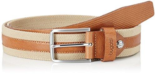 Bugatti Herren Gürtel 37600 R-1408 Braun (Camel 11)