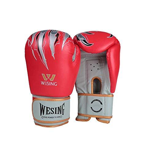 BUDBYU Boxhandschuh Adult Fitness Sanda Boxhandschuhe Muay Thai Training Sandsäcke Trainingshandschuhe Handschuhe Fitnessschutz