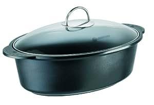 schulte ufer green life 1850 28 i roasting pan 38 cm oval. Black Bedroom Furniture Sets. Home Design Ideas