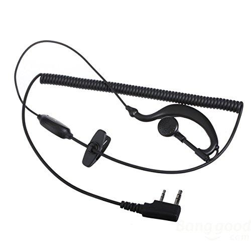 [Versand kostenlos] Micro Kopfhörer Ohr Haken Kopfhörer für Radio Walkie/Talkie/MIC Headset Ear Hook Kopfhörern for Radio Walkie Talkies