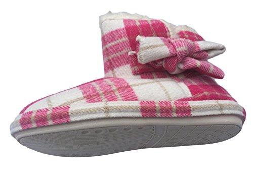 Jyoti, Pantofole donna Rouge écossais