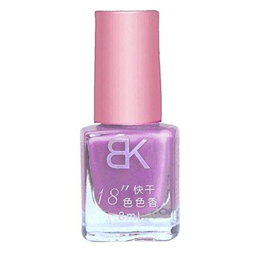 Vovotrade 1pcs 8 ml Liquid Nail Art Nail Colorful polonais vernis à ongles Nail Oil_H