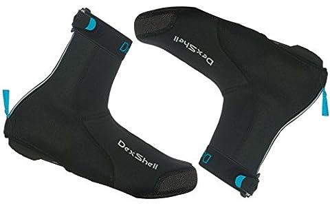 Dexshell Heavy Duty en néoprène Cyclisme Surchaussures, noir, Large (UK 9-11)