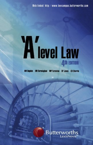 a-level-law-by-tony-dugdale-2005-02-17