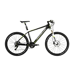 Shockblaze BK12SB0520 Krs Elite Mountain Bike, Nero