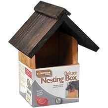Kingfisher Deluxe–Caja nido de madera para Wild & colgante, diseño de pájaros Caja Nido