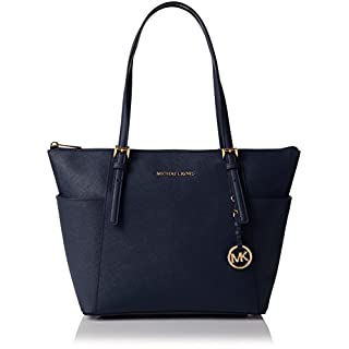 Michael Kors Womens Jet Set Item Tote Blue (Admiral) 30F2GTTT8L
