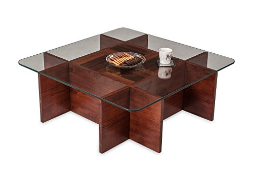 Durian Basco Coffee Table (Matt Finish, Red)