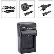 DSTE NB-11L fotocamera digitale Caricabatterie per Canon PowerShot A2300 A2400 A2500 A2600 A3400 A3500 A4000 IS ELPH 110 115 130 320 340 HS IXUS 265 132D 140 155 150 145 Camera as CB-2LDC