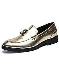 2018 Scarpe con Nappe da Uomo Mocassini Slip-On Classic Penny Loafer Oxford  Shoes Scarpe 3dacb177894