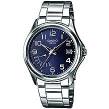 Casio Reloj Analógico para Hombre de Cuarzo con Correa en Acero Inoxidable MTP-1369PD-